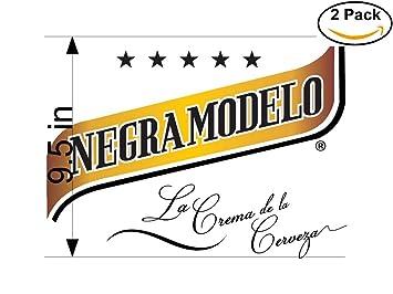 amazon co jp negra modeloビールロゴアルコール2ビニールステッカー