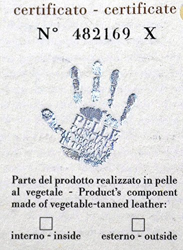 Gior Consulting - Cartera de mano de Piel para hombre Marrón natural