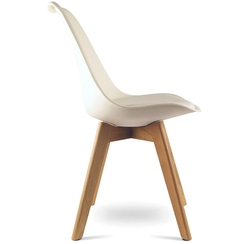 Esstischstuhl Weiß mojoliving mojo design stuhl esstischstuhl holz gestell in weiss wo
