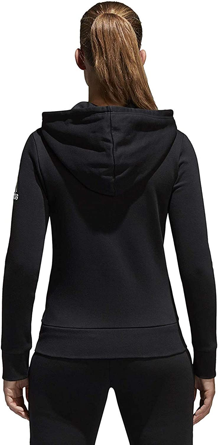 Serrado Grave lógica  Adidas Women Hoodie Running Essentials Linear Full Zip Black Training S97085  New (L): Amazon.ca: Clothing & Accessories