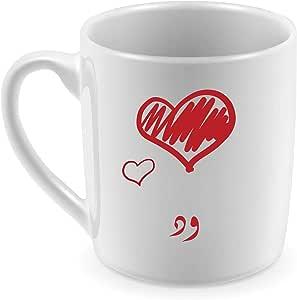 Ceramic Mug for Coffee and Tea with Wid name