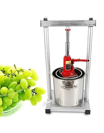 WUPYI2018 - Exprimidor de Frutas (12 L, Acero Inoxidable, fácil de Limpiar)