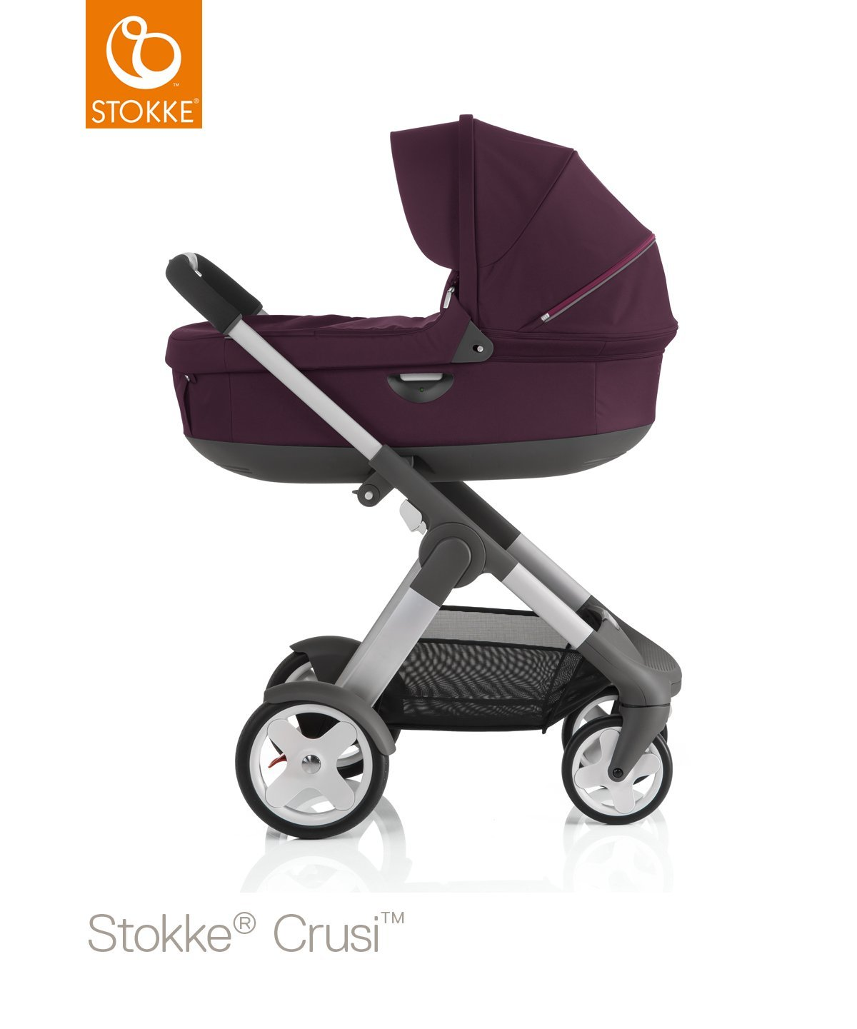 Stokke Crusi Carry Cot - Purple by Stokke (Image #2)