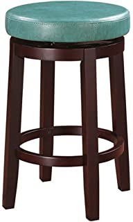 Amazoncom Delmar High Back Swivel Vanity Stool HIGH BACK IVORY