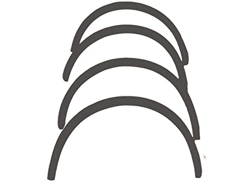 R.S.N. 575 para pintar, rueda arcos, Fender tapacubos extensiones, para óxido