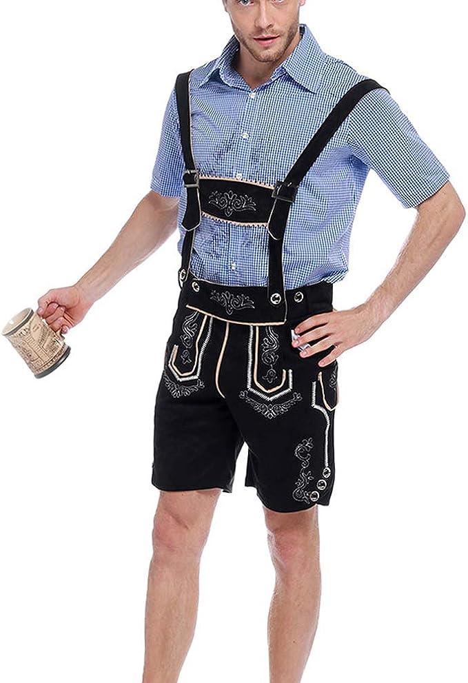 Amazon.com: Vantina Halloween Oktoberfest - Pantalón corto ...