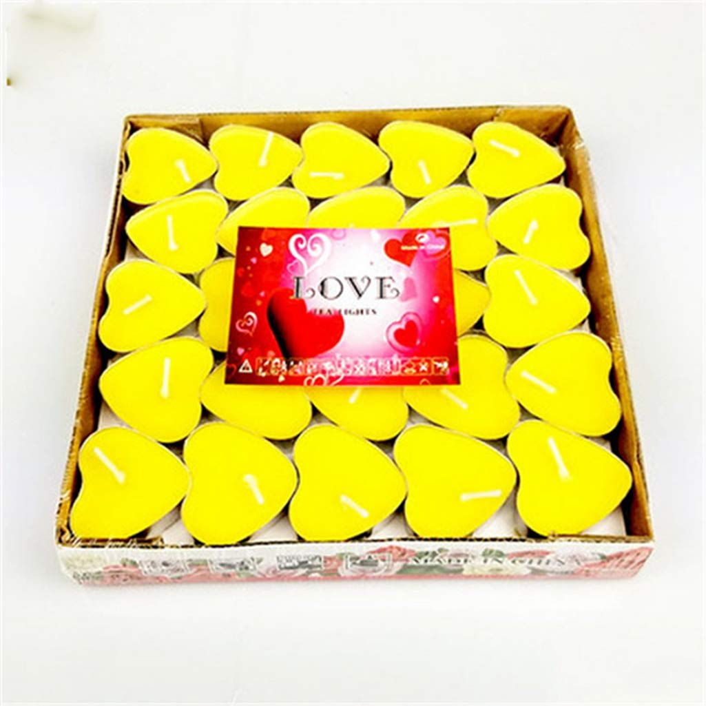 Fay Waters Small Wedding Birthday Creative Design Heart Candle Romantic Velas Tarta Light Wick Supplies