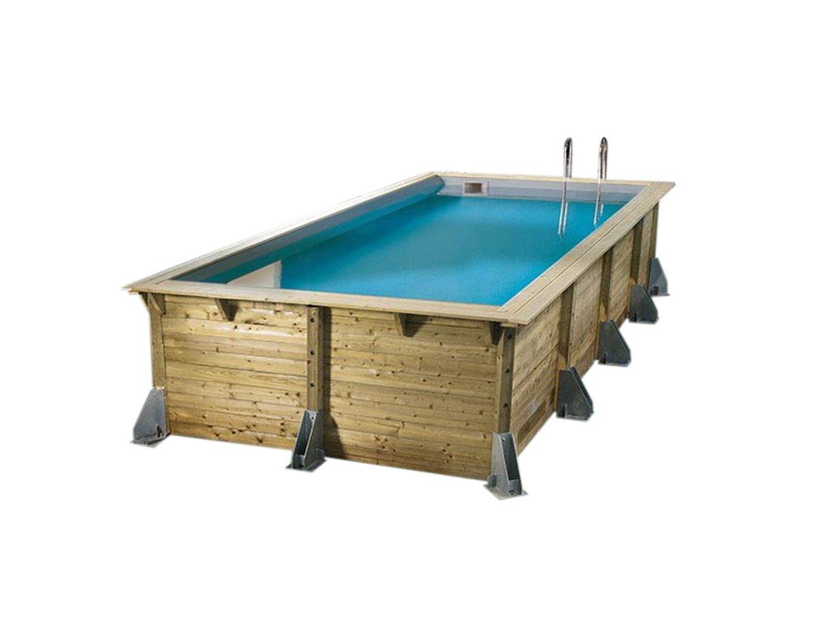 Ubbink Sunwater Wood Pool 3 00 X 5 55 Liner X 1 40 M Blue Amazon