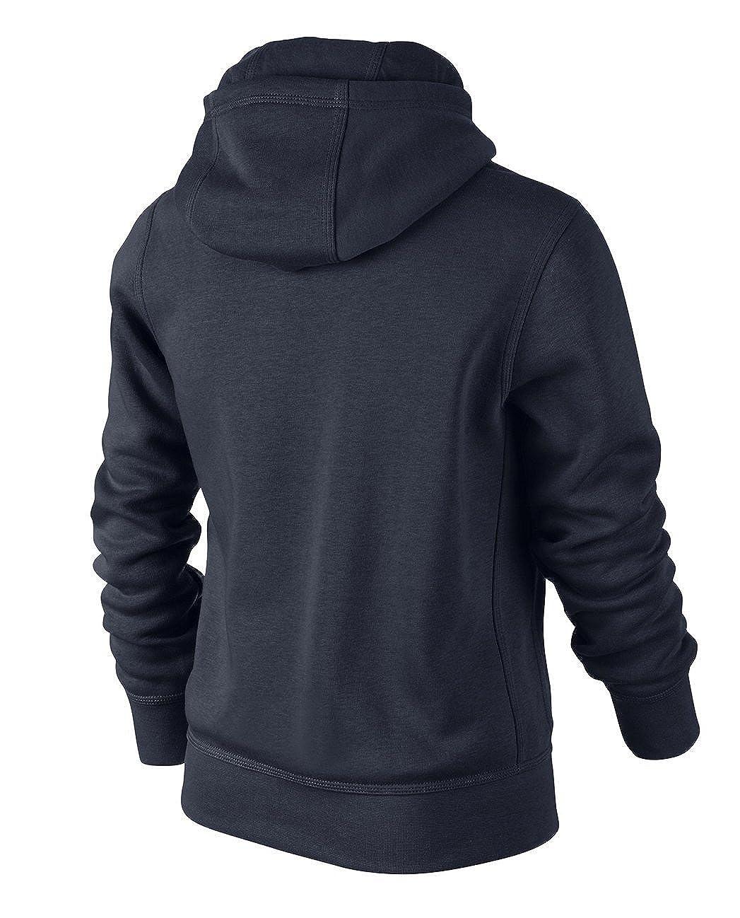 8y-15y NIKE Brushed Fleece Full-Zip Older Boys Hoodie