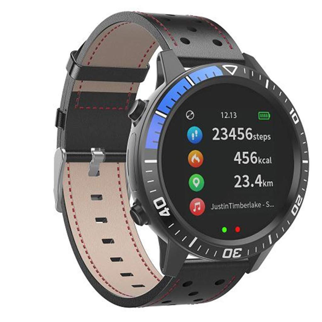 0896b7d40ed4 DAYLIN Reloj Inteligente Hombre Mujer Android iOS Reloj Deportivo  Impermeable Reloj Pulsera de Actividad Bluetooth Fitness Tracker con  Pulsómetro Monitor de ...