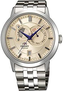Orient Automatic Sun and Moon Watch with Sapphire Crystal ET0P002W