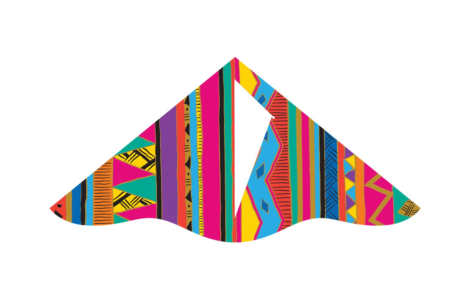 X-Kites Deluxe Delta Nylon Kite Assortment Pack (12-Pack), 42'' by X-Kites (Image #4)