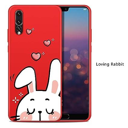 Amazon.com: Carcasa de silicona para Huawei P20 Lite, diseño ...
