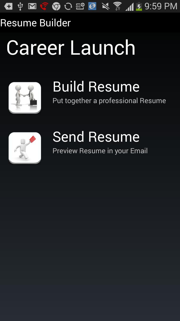 Resume Builder Download Easy Resume Creator Pro