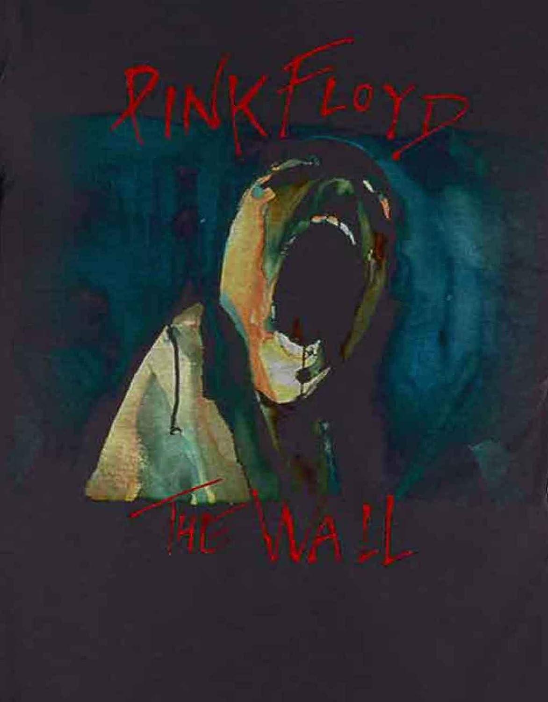 G/én/érique Pink Floyd T Shirt The Wall Scream Band Logo Nouveau Officiel Homme