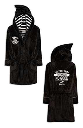 Primark Ladies Harry Potter I Solemnly Swear Bath Robe Dressing Gown