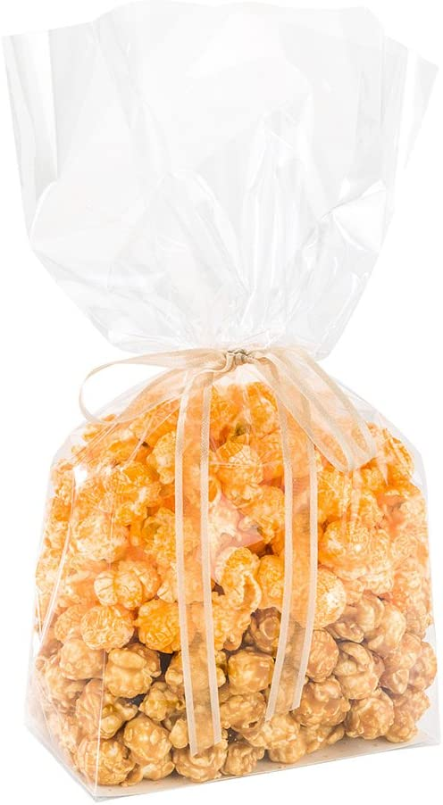 Flat Bottom Heat Seal Sandwich Bags, Heat Sealable Food Bags - Gusset Bag with Paper Insert - Clear - 5 x 3 x 12 Inch - 100ct Box - Bag Tek - Restaurantware