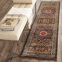 Safavieh Mahal Collection MAH620C Traditional Oriental Navy and Red Runner (22 x 16)