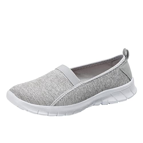 Zapatillas de Deporte para Mujer Otoño 2018 PAOLIAN Zapatos de Plano Dama Casual Cómodo Señora Senderismo Suela Blanda Espadrilles Aire Libre y Deporte ...