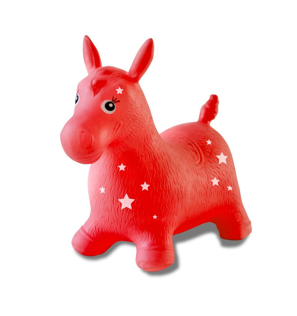 Red Jamara 460317 Horse Bouncing Animal Toy