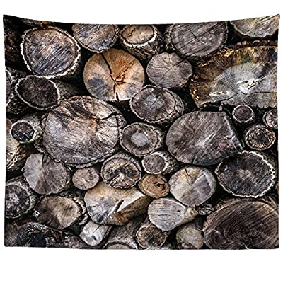 Westlake Art Wall Hanging Tapestry - Wood Rock - Photography Home Decor Living Room - 68x80in (x8z-81b-f9a)