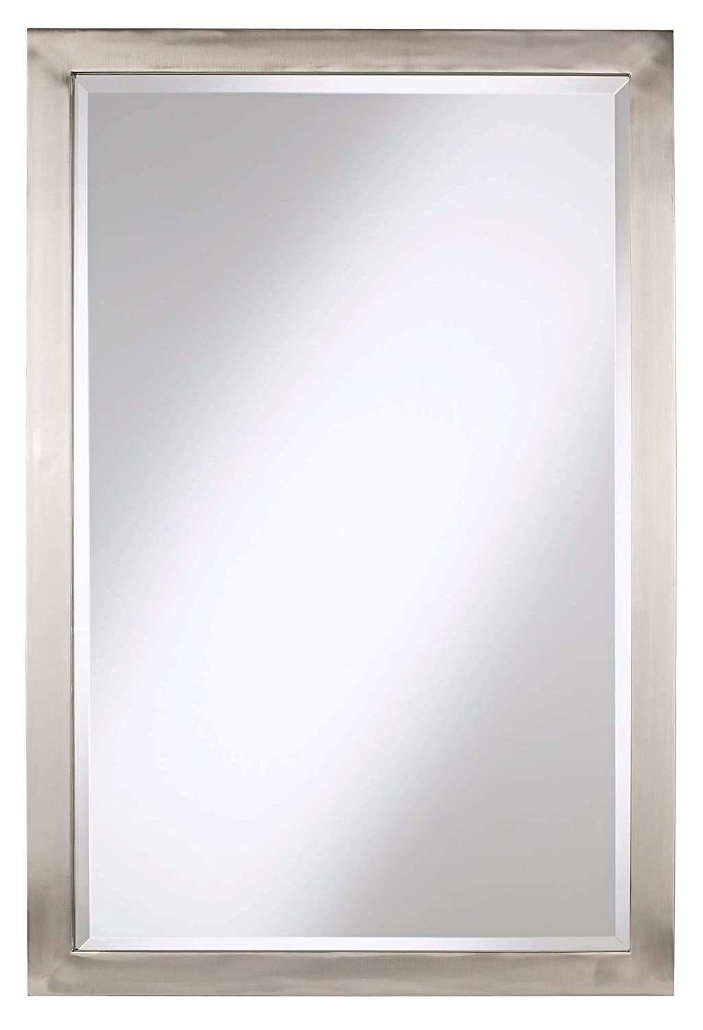 Possini Euro Design Possini Euro Metzeo 22 x 33 Metal Wall Mirror