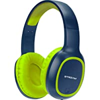 Headset Bluetooth C/Microfone - Entrada Micro SD - C/Cabo Micro USB - Azul/Verde - EPB-MS1NB - ELG