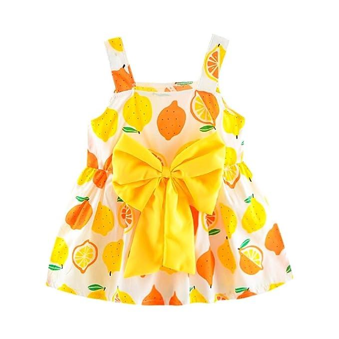 K-youth Vestido Para Bebé Niñas, Vestidos Niñas Ceremonia Barata Vestido Linda Impresión De