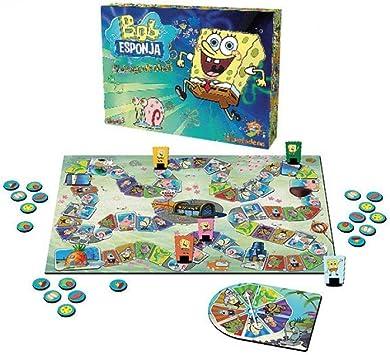 Bob Esponja - Juego de Mesa (Simba 9450305): Amazon.es: Juguetes y juegos