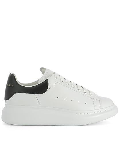 Alexander McQueen Men's 441631WHGP59061 White Leather Sneakers