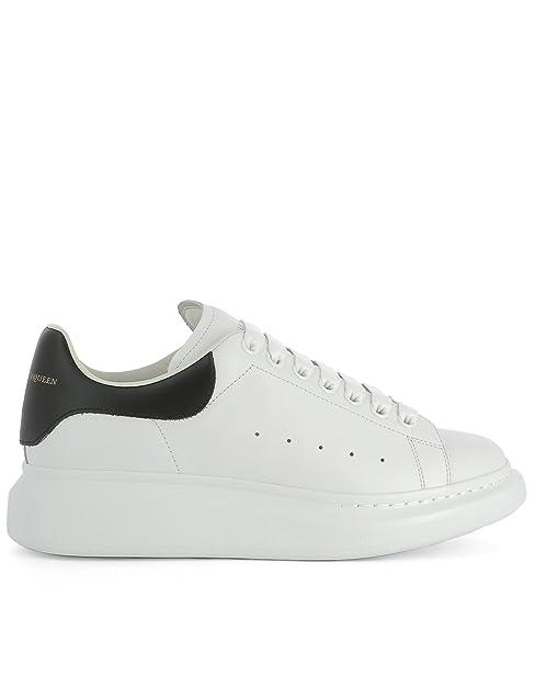 Alexander McQueen Sneakers Uomo 441631WHGP59061 Pelle Bianco ...