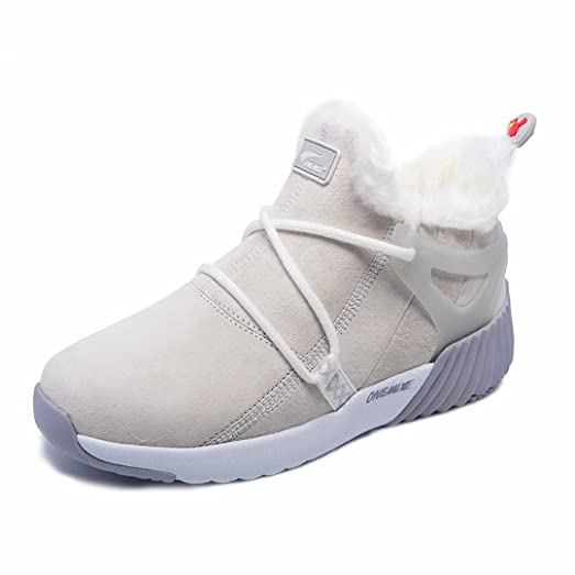 Women's Fur Lined Ankle-High BootsWinter Sports Sneakers