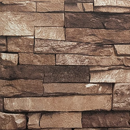 blooming wall wallpaper faux rust tuscan brick wall paper roll208 in328 ftu003d57 sq ftlooks real up coffee