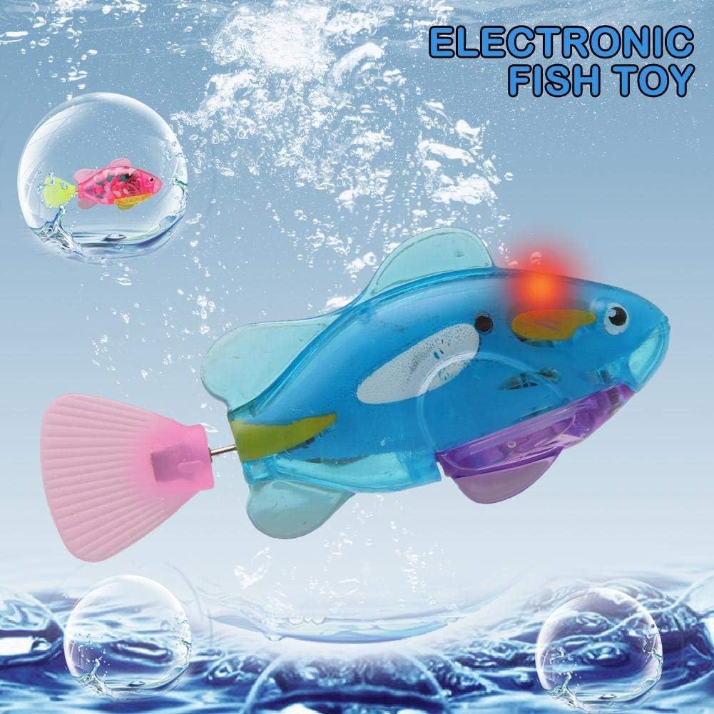 AIMG Juguetes de baño Natación Batería electrónica activada ...