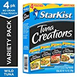 StarKist Tuna Creations Variety Pack - 2.6 oz Pouch (Pack of 4) (Packaging May Vary)
