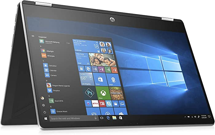 "New HP Pavilion 2-in-1 15.6"" HD Touchscreen Laptop Intel i5-8265U 8GB RAM 512GB SSD Bluetooth Windows 10"