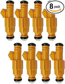 8 New Set Fuel Injectors For Ford Mercury 4.6L 5.0L 6.8L Replace 0280155710