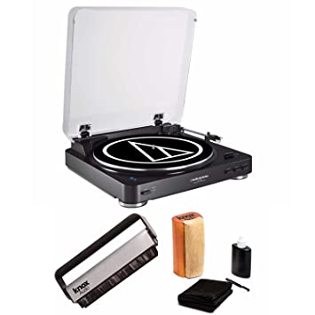 Review Audio-Technica ATLP60BK Bluetooth Turntable