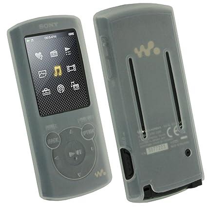 amazon com igadgitz clear silicone skin case cover holder for sony rh amazon com Sony Walkman Nwz E354 Trouble Walkman Sony Nwz- B183f