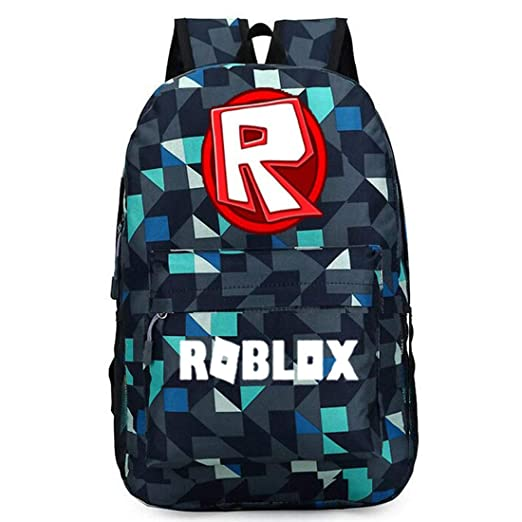 a79035f5ca57 Amazon.com: ROBLOX Backpack Boys School Bookbag for Kids ROBLOX1 One ...