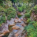 New Hampshire, Wild & Scenic 2019 12 x 12 Inch Monthly Square Wall Calendar, USA United States of America Northeast State Nature