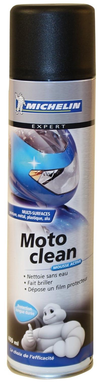 Michelin 008802 Moto Clean Nettoyant Mousse, 400 ml