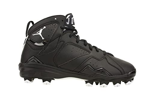 Nike Mens Air Jordan 7 Retro MCS Baseball Cleats Black White 684942-010 Size 1cfc10adc6