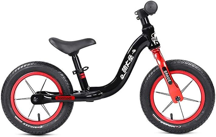 Bicicletas sin pedales Bicicleta Ligera de Equilibrio para niños de 2 años o más, sin Pedales