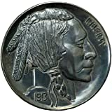 "Jumbo 3"" Indian Head Buffalo Nickel Fake Play Coin"