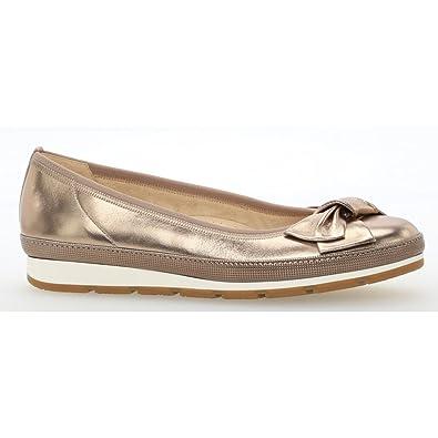 70c7dd4f99 Gabor Women's Comfort Sport Closed Toe Ballet Flats: Amazon.co.uk ...