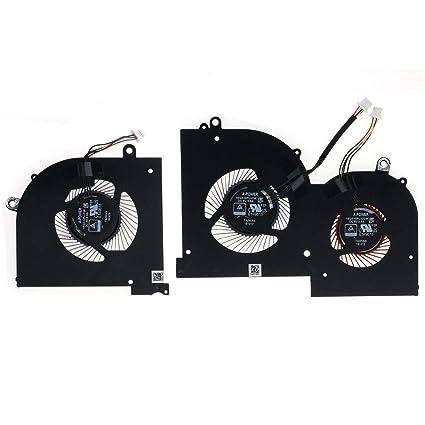Amazon com: New CPU&GPU Cooling Fan for MSI GS65 GS65VR MS-16Q2 16Q2