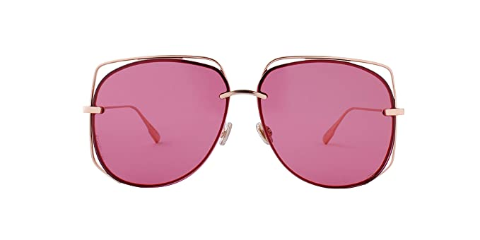 Dior Gafas de Sol STELLAIRE 6 Rose Gold/Pink Unisex: Amazon ...