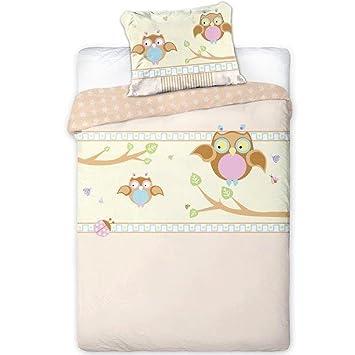 Baby Bettwäsche rosa uni Baby Kleinkind 100 /% Baumwolle