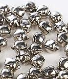 Bulk Bag of 144 Silver Metal 3/8